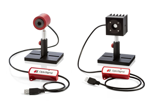 New He-Ne laser and optical power and energy sensors available from OptoSigma now!